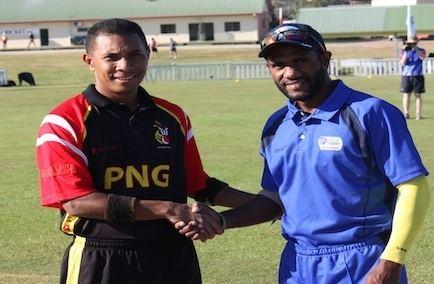 CJ Amini (Cricketer) playing cricket