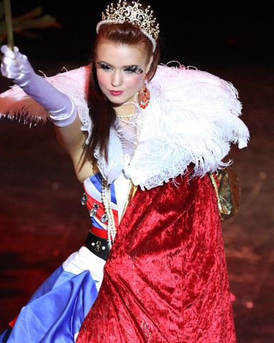 Clair Cooper Miss Universe National Costume Clair Cooper