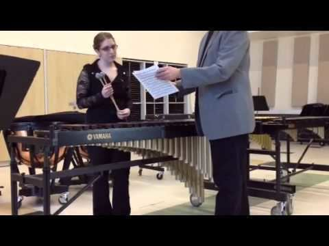 Clair Omar Musser tude in A flat by Clair Omar Musser Marimba Solo YouTube