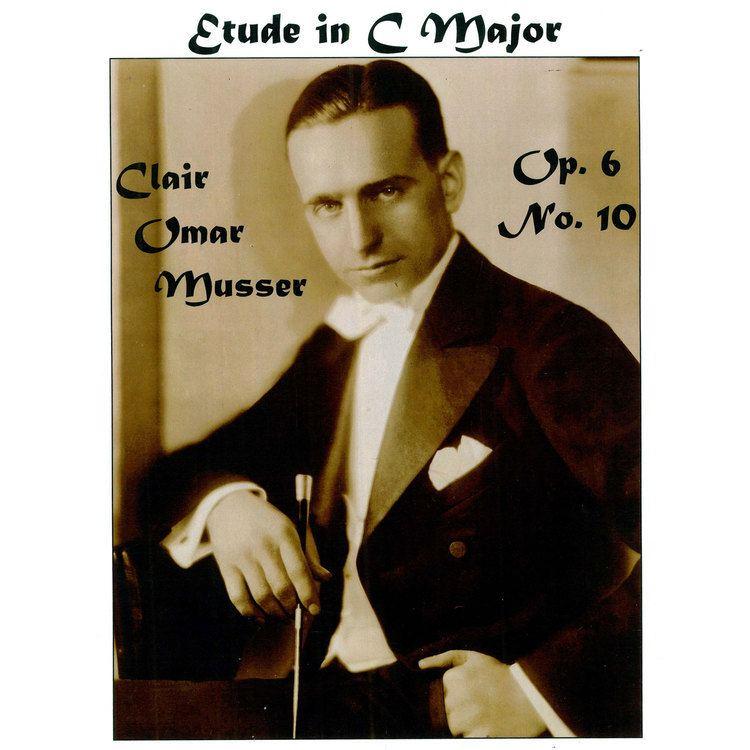 Clair Omar Musser Etude in C Major Op 6 No 10 by Clair Omar Musser Marimba Solo