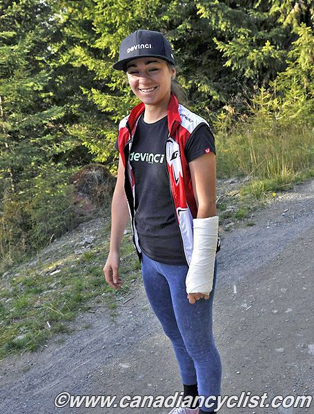 Claire Buchar Canadian Cyclist Rachel Pageau Out of World Cup Miller