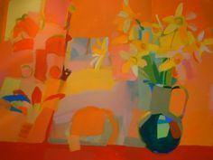 Claire Harrigan Flower art on Pinterest Flower Paintings Still Life