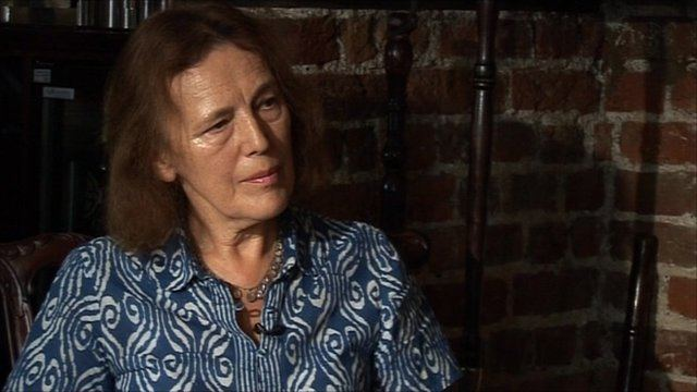 Claire Tomalin Meet the author Claire Tomalin BBC News