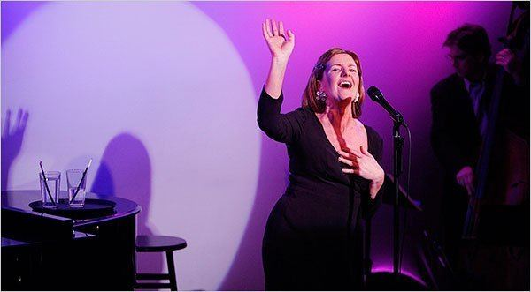 Clare Burt Crooning and Belting at the Metropolitan Room The New York Times