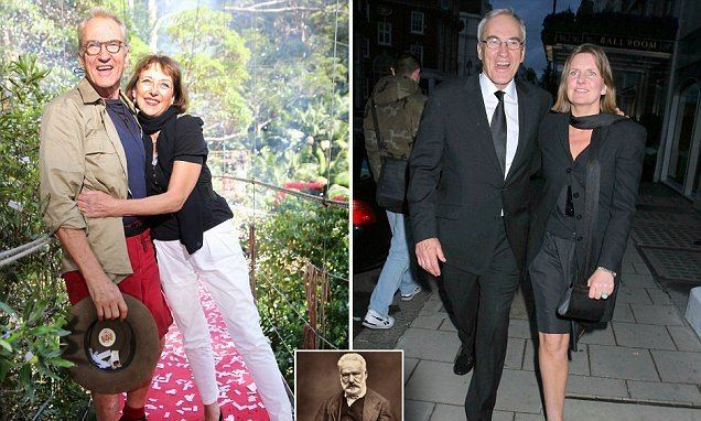 Clare Burt Larry Lamb splits from The Bill actress Clare Burt and his