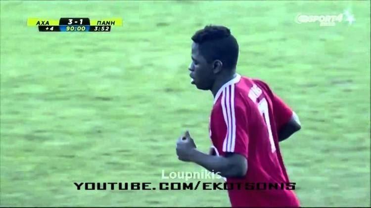 Clarence Bitang Clarence Bitang First Goal with Paniliakos FC YouTube