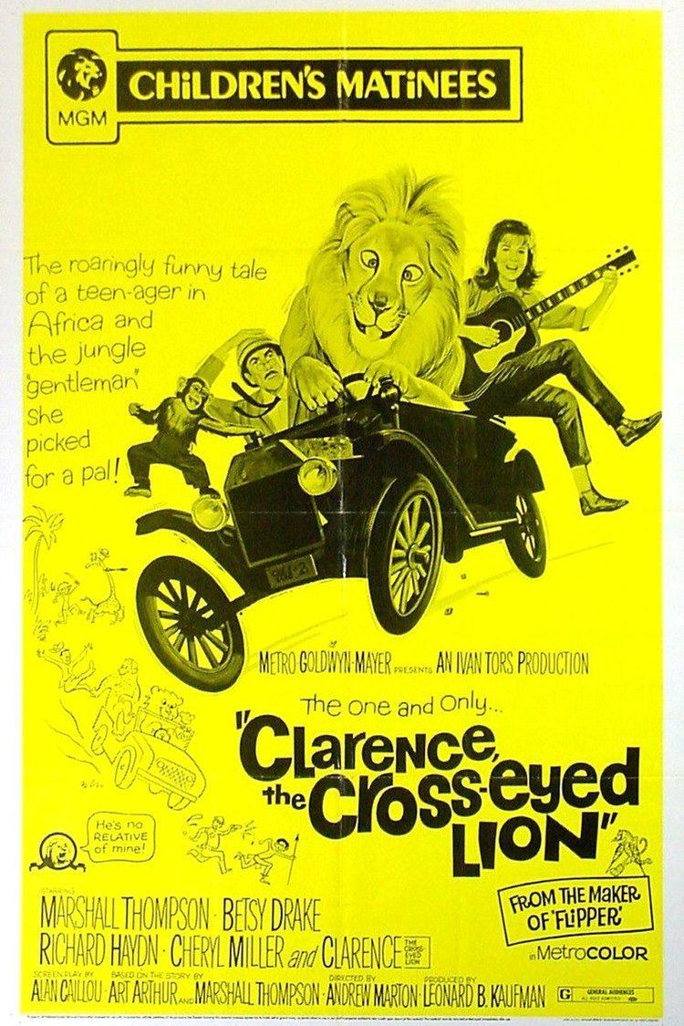 Clarence, the Cross-Eyed Lion wwwgstaticcomtvthumbmovieposters4512p4512p