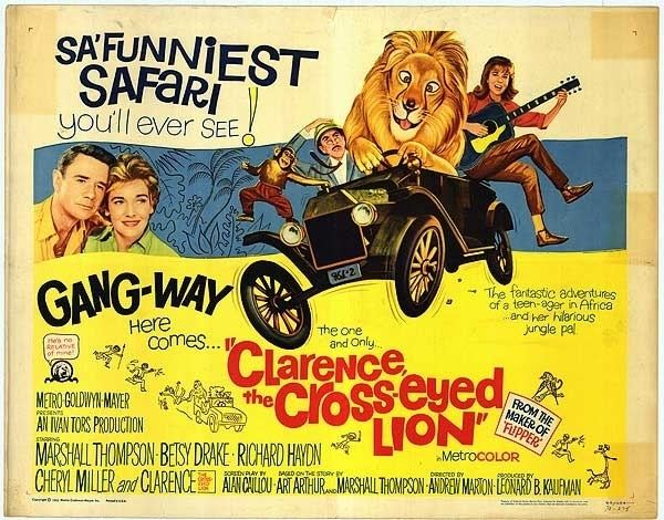 Clarence, the Cross-Eyed Lion How it all began Clarence the CrossEyed Lion Daktari TV Show