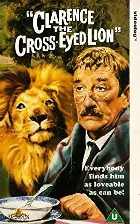 Clarence, the Cross-Eyed Lion Clarence the Cross Eyed Lion VHS Marshall Thompson Betsy Drake