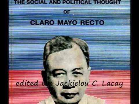 Claro M. Recto Claro M Recto Alchetron The Free Social Encyclopedia
