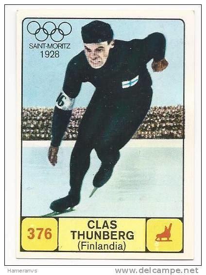 Clas Thunberg Finland Clas Thunberg 196869 Panini Card Delcampenet