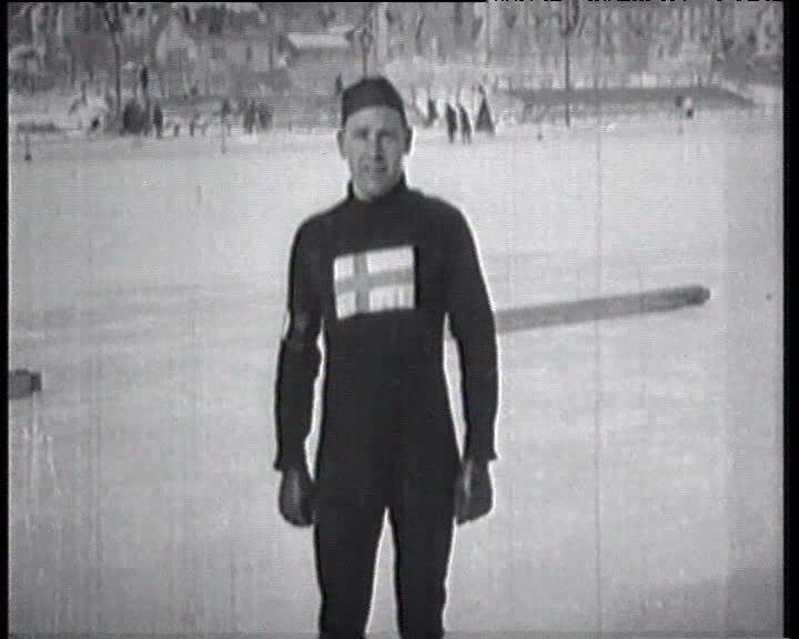 Clas Thunberg Ist Olympic Winter Chamonix 1924 Clas Thunberg Speed