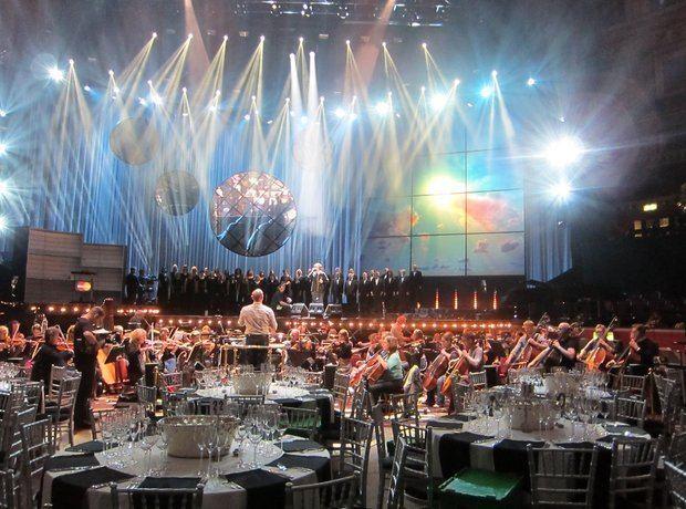 Classic Brit Awards Classic BRIT Awards 2012 behind the scenes Classic FM