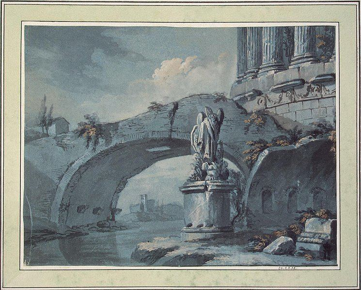 Classical antiquity Architectural Fantasy on a Theme from Classical Antiquity Charles
