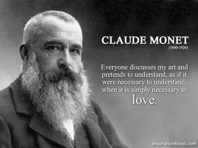 Claude Monet Claude Monet Art Quotes Inspiration Boost