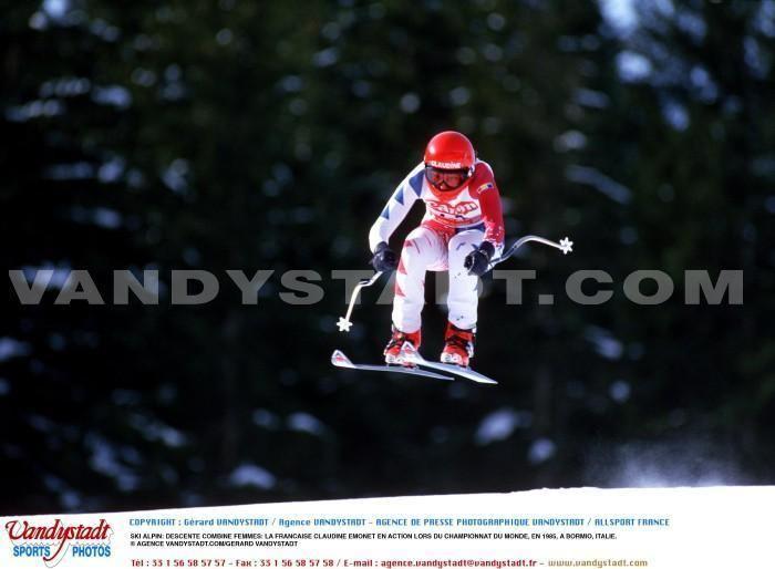 Claudine Emonet Photos Skialpin claudine emonet SportQuick