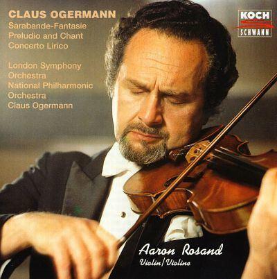 Claus Ogerman Ogermann Works for violin amp orchestra Claus Ogerman