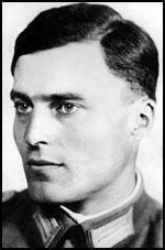 Claus von Stauffenberg spartacuseducationalcomGERstauffenberg6jpg