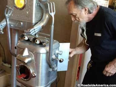 Clayton Bailey Bailey Art Museum Robots of Clayton Bailey Crockett California
