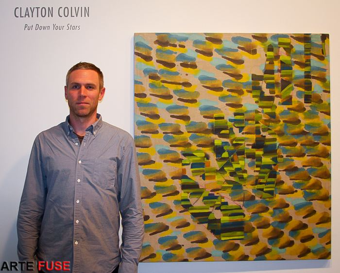 Clayton Colvin PICTURE THIS Melting into Fantastic Color Fields Arte Fuse