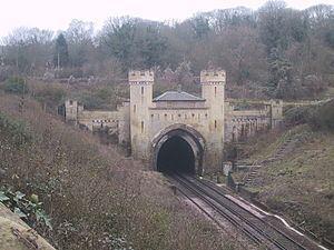 Clayton Tunnel rail crash httpsuploadwikimediaorgwikipediacommonsthu