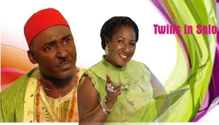 Clem Ohameze TWINS IN SOLONigerian Nollywood MoviesPatience Ozokwo