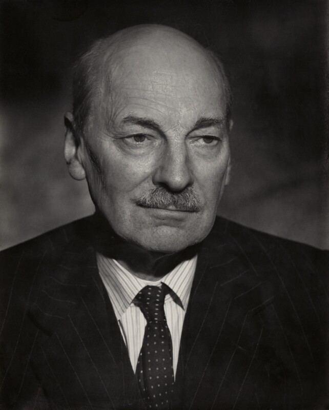 Clement Attlee NPG x45166 Clement Attlee Portrait National Portrait