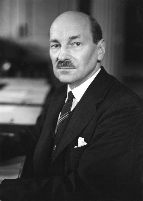 Clement Attlee NPG x2609 Clement Attlee Portrait National Portrait