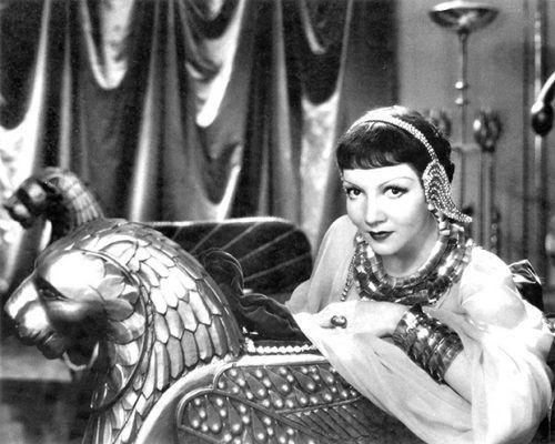 Cleopatra (1934 film) Claudette Colbert in Cecil B DeMilles Cleopatra 1934
