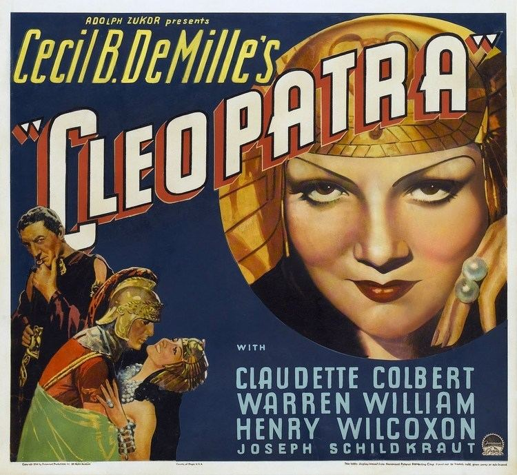 Cleopatra (1934 film) Cleopatra 1934 version review YouTube