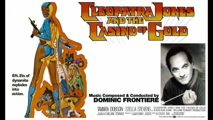 Cleopatra Jones and the Casino of Gold Dominic Frontieres music score from CLEOPATRA JONES THE CASINO