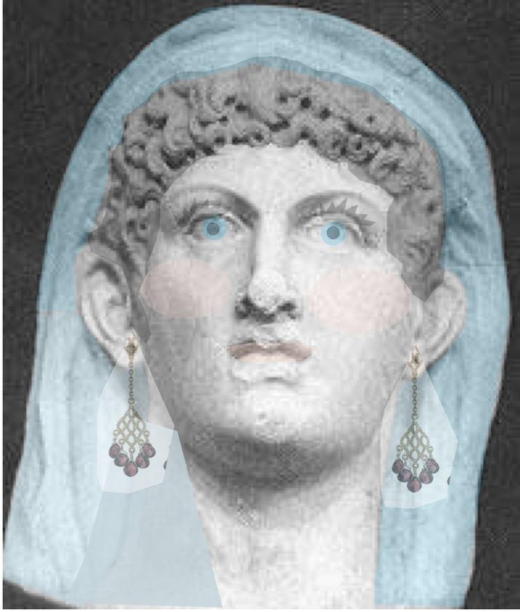 Cleopatra Selene II SeleneColorized2jpg
