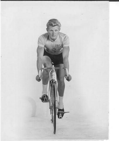 Cliff Burvill Burvill Cliff 1956 Olympics Cliff Burvill Australian cycl Flickr