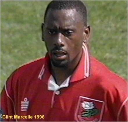 Clint Marcelle wwwttfootballhistorycomfilesimages1996marcel
