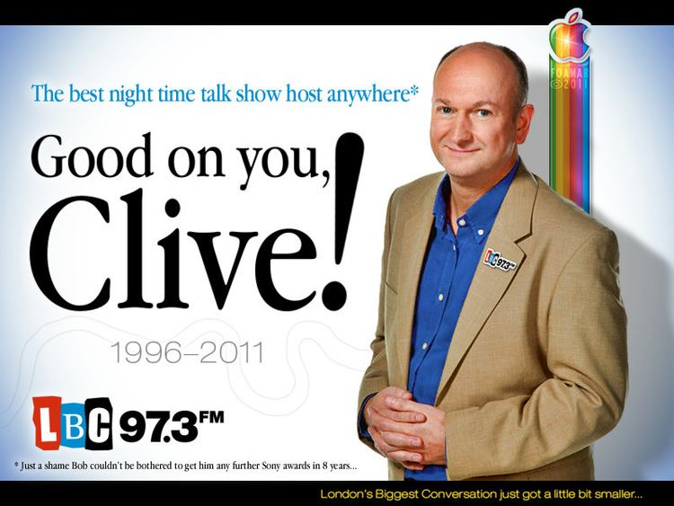 Clive Bull Clive Bull Leaving LBC 973 And so on a rainy and otherwi Flickr