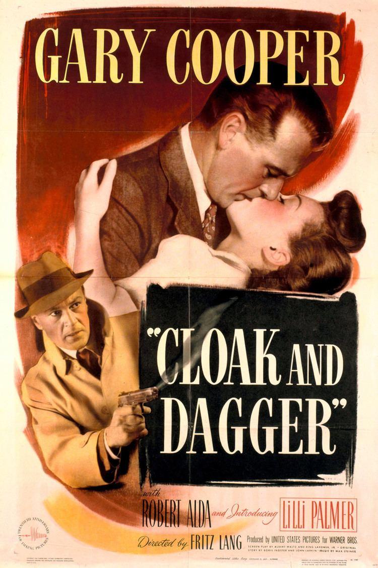 Cloak and Dagger (1946 film) wwwgstaticcomtvthumbmovieposters4789p4789p