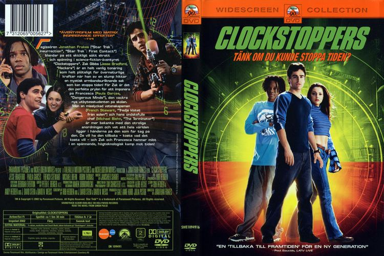 Clockstoppers COVERSBOXSK Clockstoppers 2002 high quality DVD Blueray