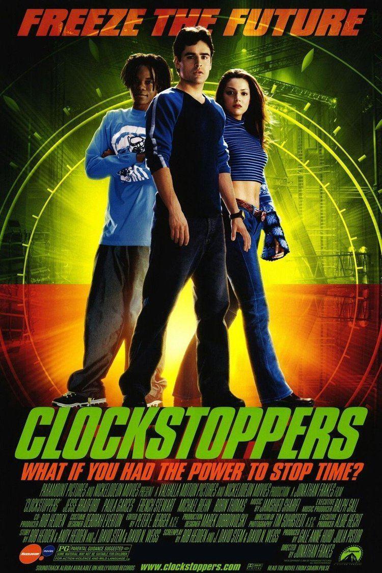 Clockstoppers wwwgstaticcomtvthumbmovieposters29607p29607