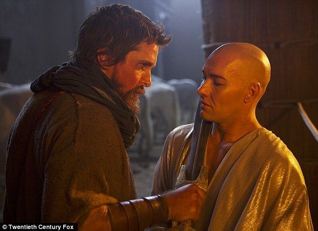 Closer than a Brother movie scenes Not good friends Christian Bale L who is playing Moses in the 150