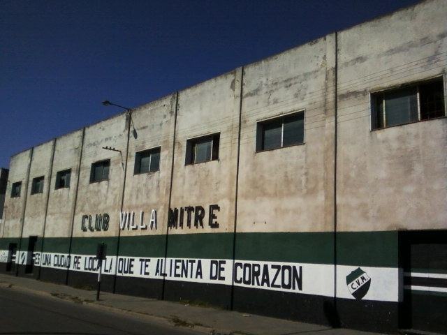 Club Villa Mitre FileFrente del Estadio Jos Martnez Club Villa MitreJPG