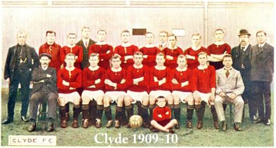 Clyde F.C. Clyde Historical Football Kits
