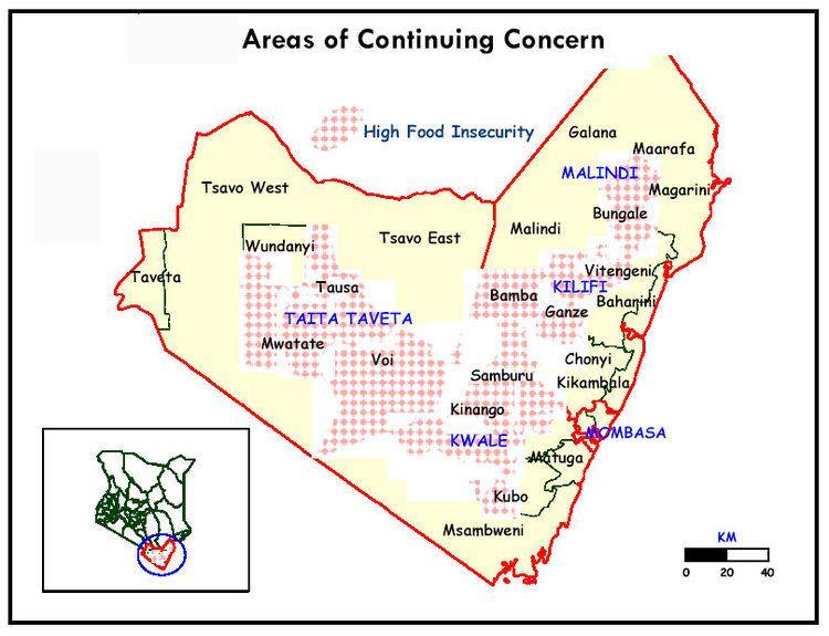 Coast Province Kenya Areas of continuing concern Coast province Kenya ReliefWeb