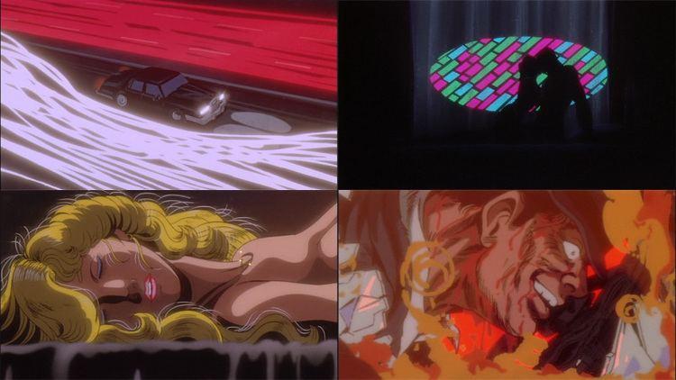 Cobra (manga) movie scenes Scheda anime