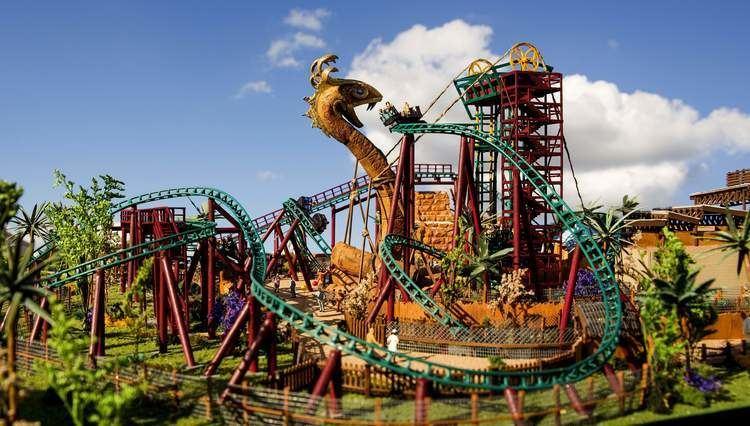 Cobra's Curse Cobra39s Curse debuts at BuschGardens Tampa Mack Rides
