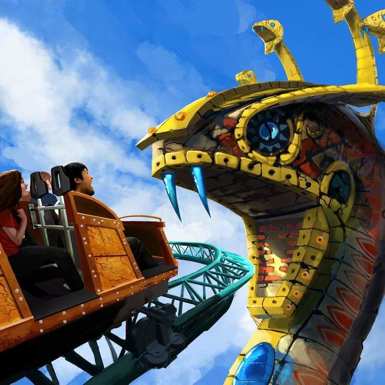 Cobra's Curse Spin coaster Cobra39s Curse to open at Busch Gardens in 2016 TBOcom