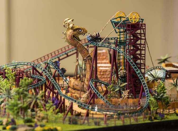 Cobra's Curse Busch Gardens reveals model of new Cobra39s Curse coaster TBOcom