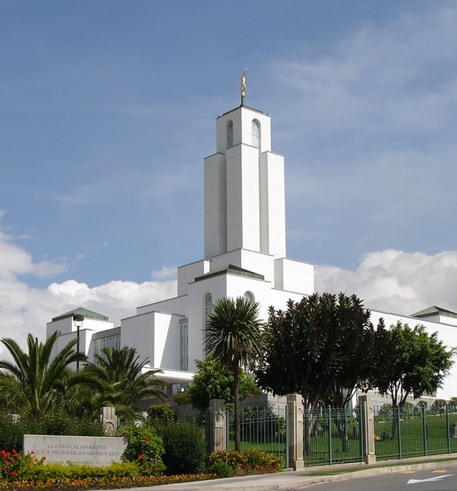 Cochabamba Bolivia Temple
