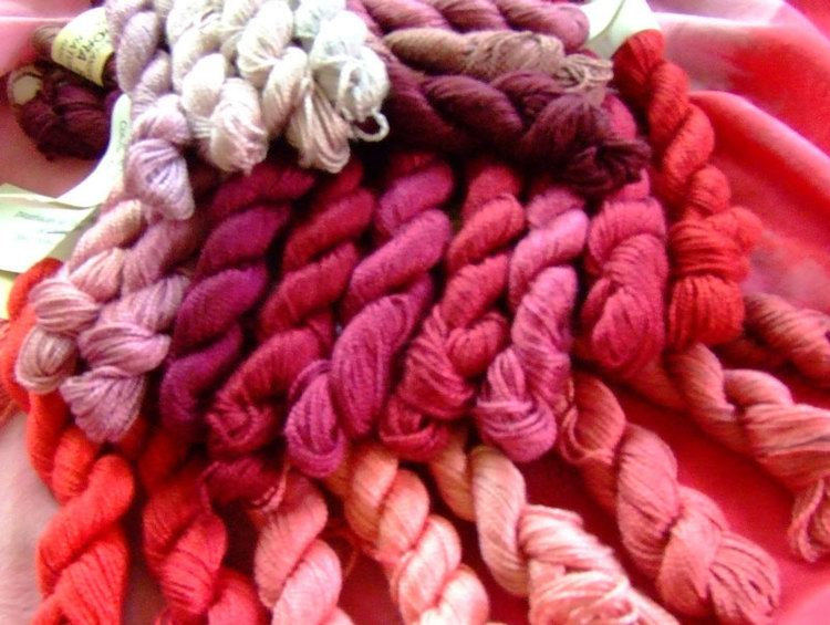 Cochineal Aurora Silk Cochineal Natural Dye