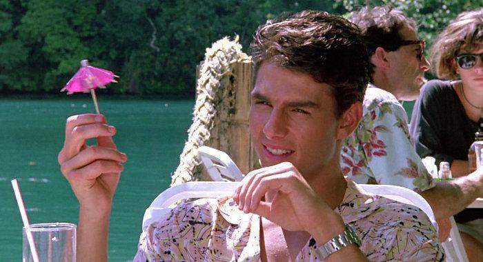 Tom Cruise drink umbrella