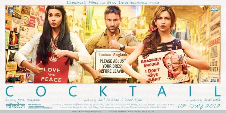 Cocktail 2012 Watch Free Online Bollywood Movie